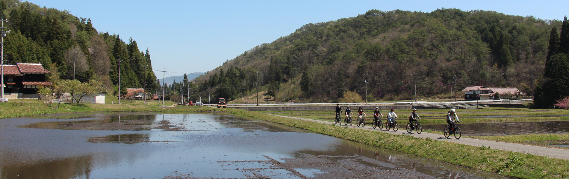 里山サイクリング